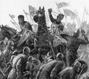 Vechtende soldaten